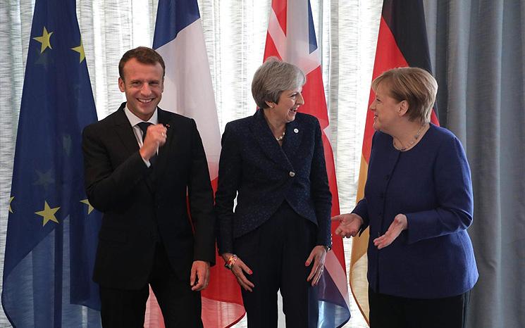 缺乏民意信任,多重治理难题考验英法德领导