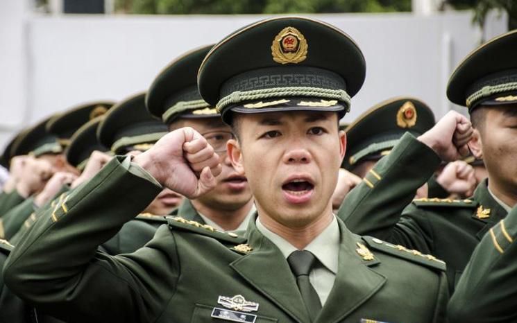 中国武警部队改革,进一步瘦身至40万规模