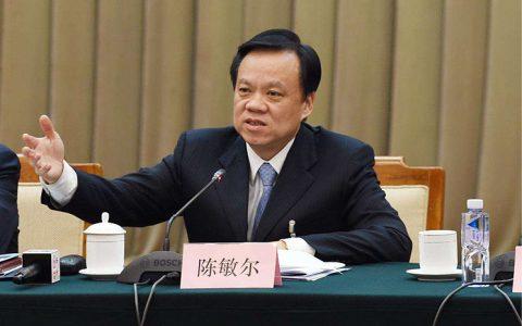 """重庆市委书记陈敏尔:肃清""""薄王遗毒""""工作取得阶段性成效"""